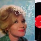 Page, Patti - Greatest Hits - Vinyl LP Record - Tennessee Waltz - Pop