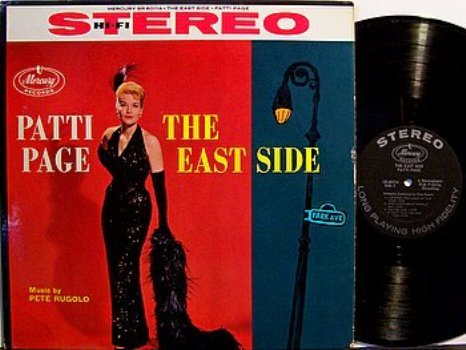 Page, Patti - The East Side - Vinyl LP Record - Pete Rugolo - Pop