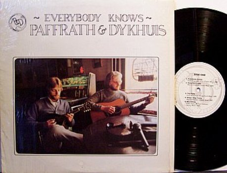 Paffrath & Dykhuis - Everybody Knows - Vinyl LP Record - Country Rock