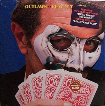 Outlaws, The - Playin' To Win - Sealed Vinyl LP Record - Rock