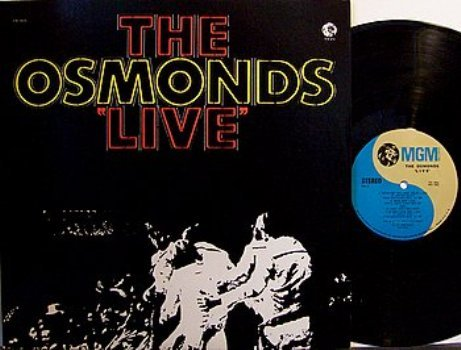 Osmonds, The - Live - Vinyl 2 LP Record Set - Pop Rock