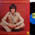Osmond, Donny - Alone Together - Vinyl LP Record - Pop Rock