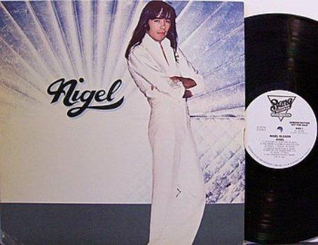 Olsson, Nigel - Nigel - White Label Promo - Vinyl LP Record - Rock