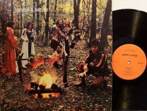 Nymphs & Satyrs - Self Titled - Vinyl LP Record - Hippie Baroque Rock