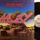 Moxy - Ridin' High - Vinyl LP Record - Rock