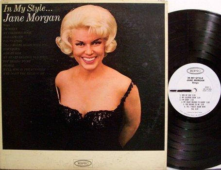 Morgan, Jane - In My Style - White Label Promo - Vinyl LP Record - Pop