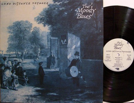 Moody Blues, The - Long Distance Voyager - Vinyl LP Record - Rock