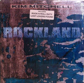 Mitchell, Kim - Rockland - Sealed Vinyl LP Record - Max Webster - Rock