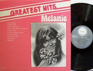 Melanie - Greatest Hits - Vinyl LP Record - Rock
