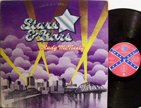 McNeely, Rudy - Stars & Bars - Vinyl LP Record - Rock