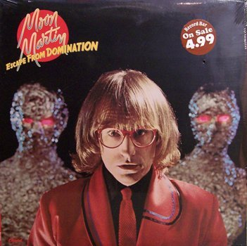 Martin, Moon - Escape From Domination - Sealed Vinyl LP Record - Rock
