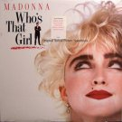 Madonna - Who's That Girl - Sealed Vinyl LP Record - Rock Soundtrack