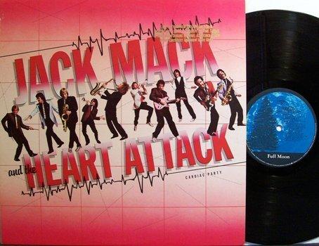 Mack, Jack & The Heart Attack - Cardiac Arrest - Vinyl LP Record - Rock