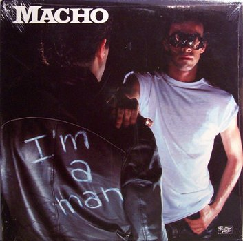 Macho - I'm A Man - Sealed Vinyl LP Record - Disco Pop Rock