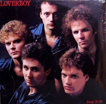 Loverboy - Keep It Up - Sealed Vinyl LP Record - Rock