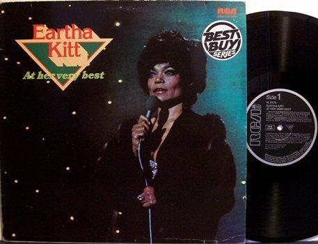 Kitt, Eartha - At Her Very Best - German Pressing - Vinyl LP Record - Pop