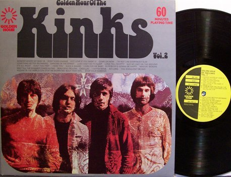 Kinks, The - Golden Hour Of The Kinks - Canada Pressing - Vinyl LP Record - Rock