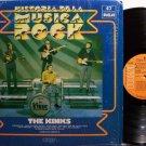 Kinks, The - Historia De La Musica Rock - Spain Pressing - Vinyl LP Record