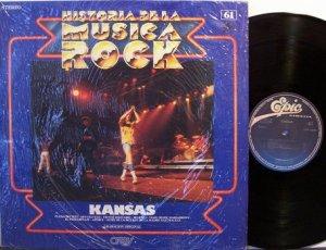 Kansas - Historia De La Musica Rock - Spain Pressing - Vinyl LP Record