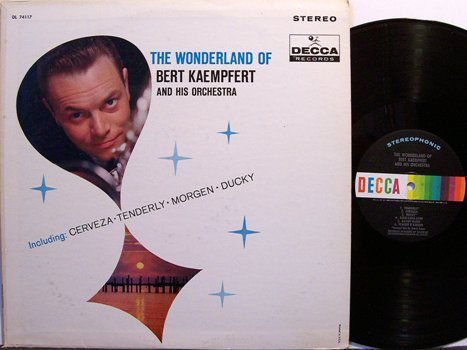 Kaempfert, Bert - The Wonderland Of - Vinyl LP Record - Pop
