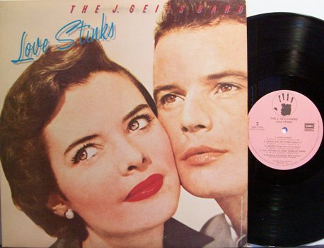 J. Geils Band - Love Stinks - Vinyl LP Record - Rock