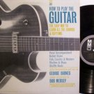 How To Play The Guitar - Instruction Lesson - Vinyl LP Record + Booklet - Rock