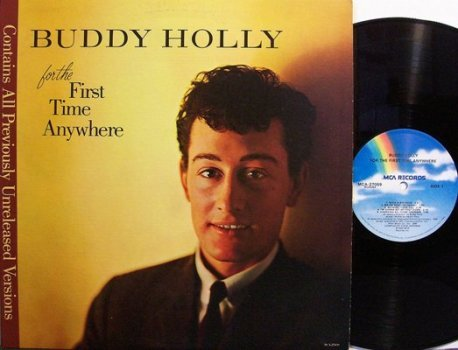 Holly, Buddy - For The First Time Anywhere - Vinyl LP Record - Rock