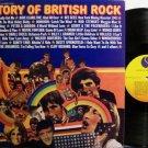 History Of British Rock - Various Artists - Vinyl 2 LP Record Set - Rock