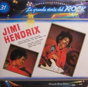 Hendrix Jimi La Grande Storia Del Rock Italy Pressing