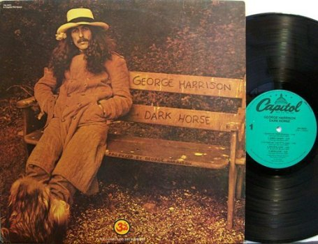 Harrison, George - Dark Horse - Vinyl LP Record - Rock