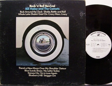 Haley, Bill - Rock 'N' Roll Revival - White Label Promo - Vinyl LP Record - Rock