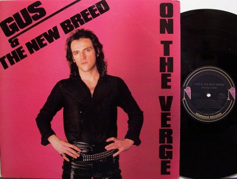 Gus & The New Breed - On The Verge - Vinyl LP Record - Rock