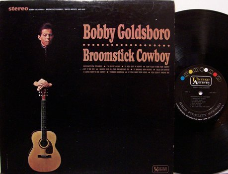 Goldsboro, Bobby - Broomstick Cowboy - Vinyl LP Record - Pop Rock