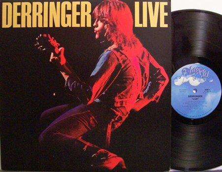 Derringer, Rick - Live - Vinyl LP Record - Rock