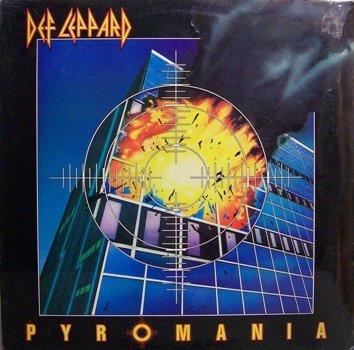 Def Leppard Pyromania Sealed Vinyl Lp Record Rock