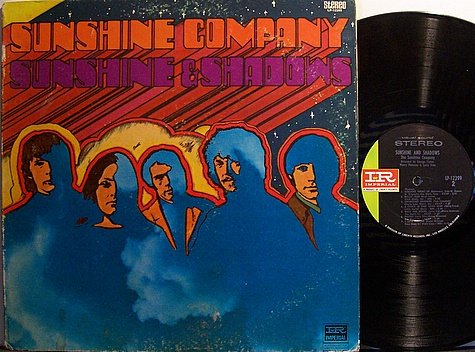 Sunshine Company - Sunshine & Shadows - Vinyl LP Record - Rock