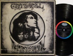 Crystal Mansion Featuring Johnny Caswell - Self Titled - Vinyl LP Record - Rock