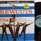 Crew Cuts, The - Sing Folk - Vinyl LP Record - Pop