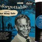 Cole, Nat King - Unforgettable - UK Pressing - Vinyl LP Record - Pop