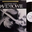 Bowie, David - An Evening With - Promo Only Radio Show - Vinyl LP Record - Rock
