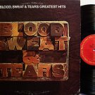 Blood Sweat & Tears - Greatest Hits - Vinyl LP Record - Rock