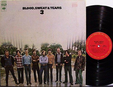 Blood Sweat & Tears - 3 - Vinyl LP Record - Rock