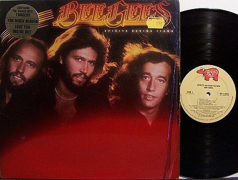 Bee Gees, The - Spirits Having Flown - Vinyl LP Record + Insert - Pop Rock