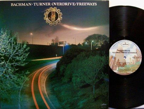 Bachman Turner Overdrive / BTO - Freeways - Vinyl LP Record - Rock