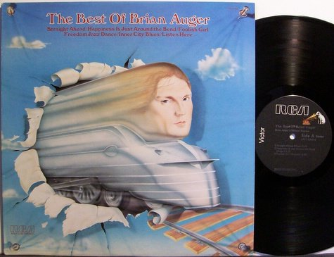 Auger, Brian - The Best Of - Vinyl LP Record - Rock