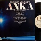 Anka, Paul - Times Of Your Life - Vinyl LP Record - Pop Rock