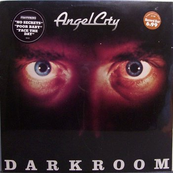 Angel City - Darkroom - Sealed Vinyl LP Record - Rock