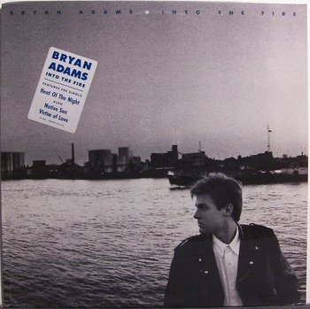 Adams, Bryan - Into The Fire - Sealed Vinyl LP Record - Rock