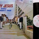 Staple Community Choir, The - Try Jesus - Vinyl LP Record - Black Gospel