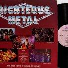 Righteous Metal - Various Artists - Vinyl LP Record - Stryken / Bloodgood etc - Christian Rock
